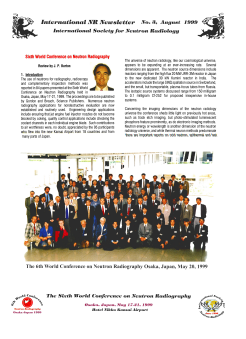 International NR-Newsletter no. 3